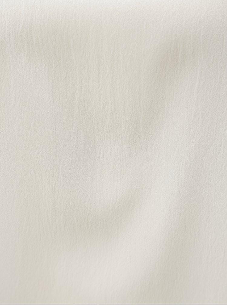 Bílá halenka s volánovým rukávem Blendshe Ramona