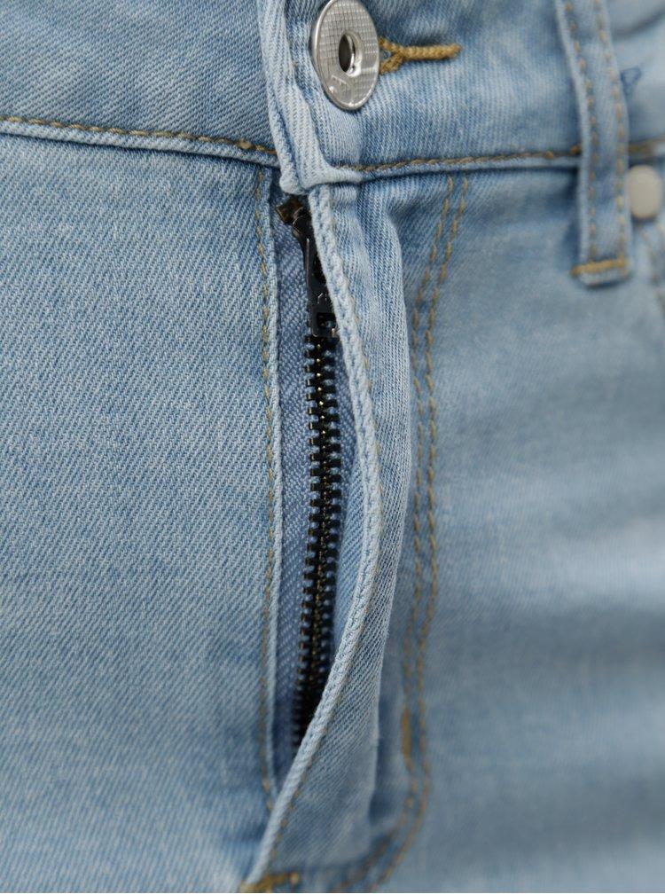 Světle modrá džínová sukně s laclem Blendshe Bleen