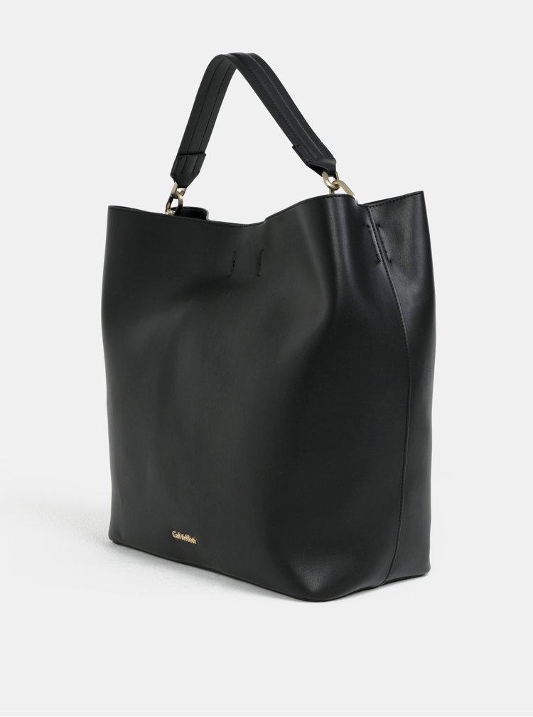 Černá velká kabelka Calvin Klein Jeans