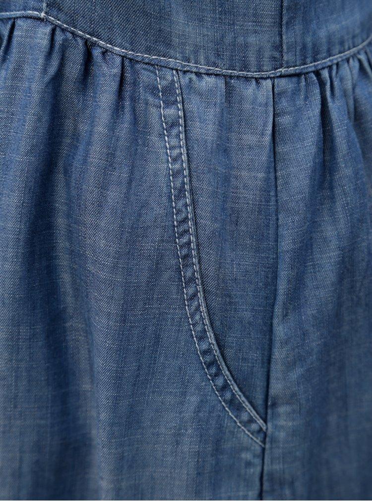 Modré šaty na ramínka Blendshe Saya