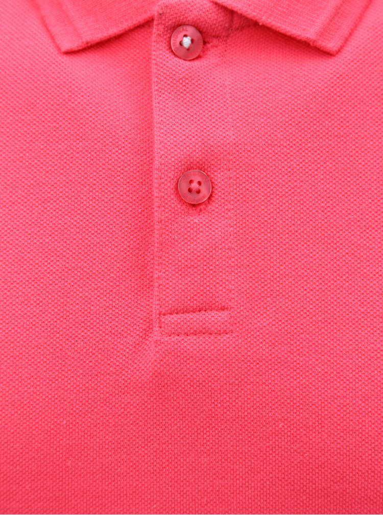 Tricou polo roz Original Penguin Raised