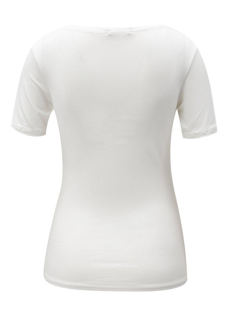 Bílé tričko s krátkým rukávem  ZOOT