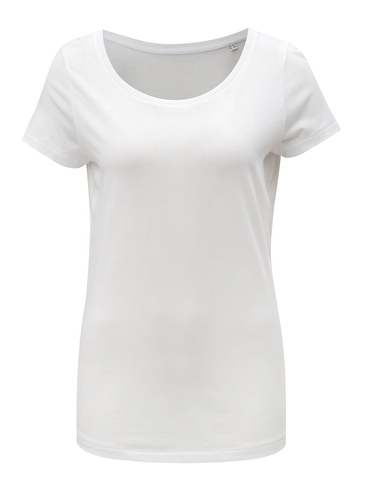 Bílé dámské basic tričko Stanley & Stella Loves