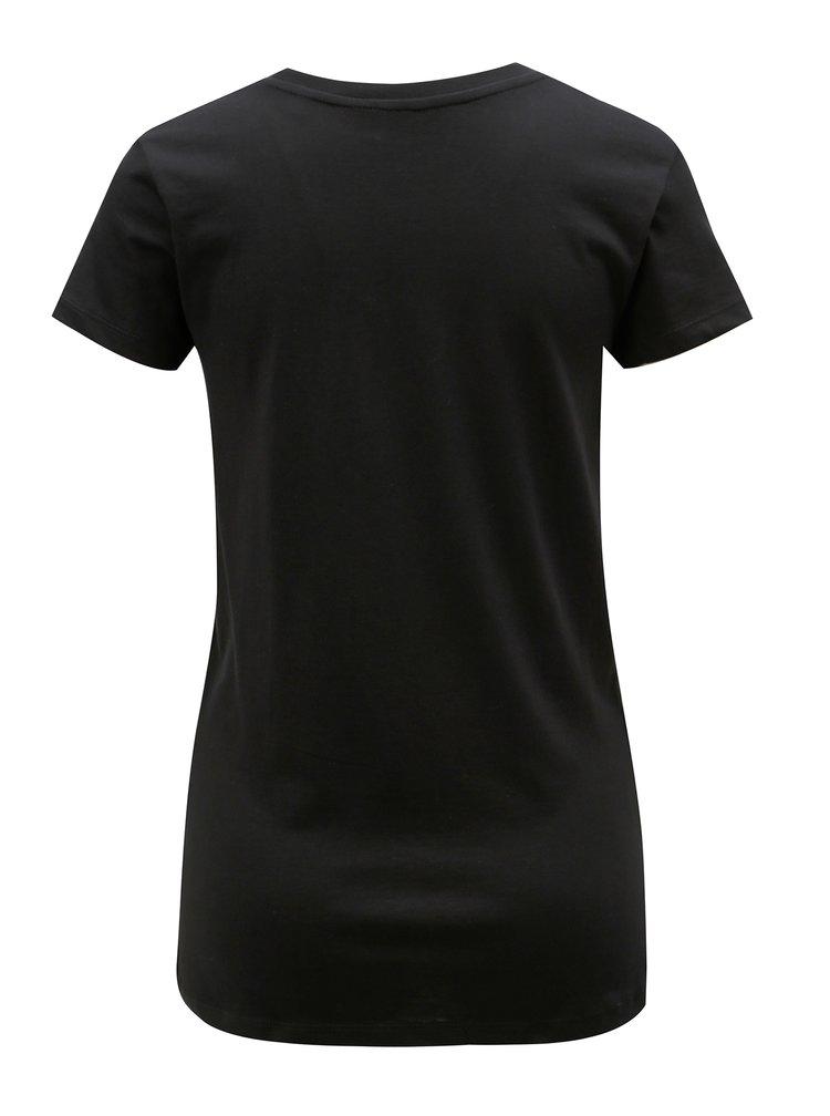 Černé dámské basic tričko Stanley & Stella Likes