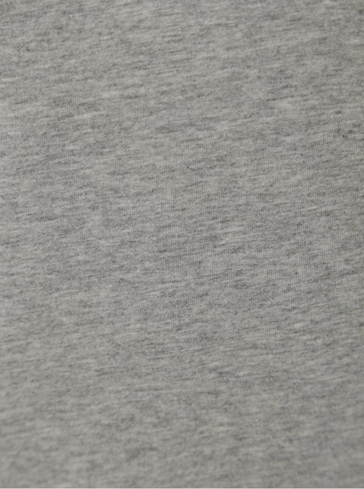 Šedé dámské žíhané tričko Stanley & Stella Selects