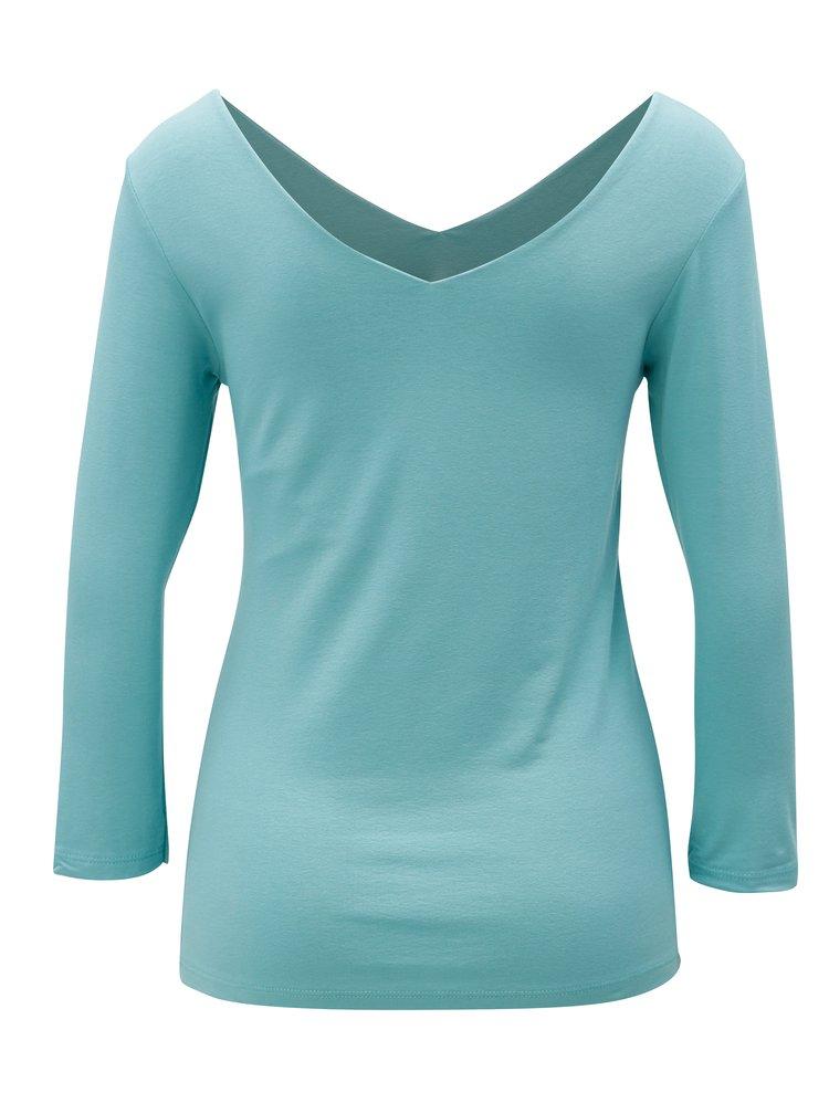 Světle modré tričko s dlouhým rukávem ZOOT