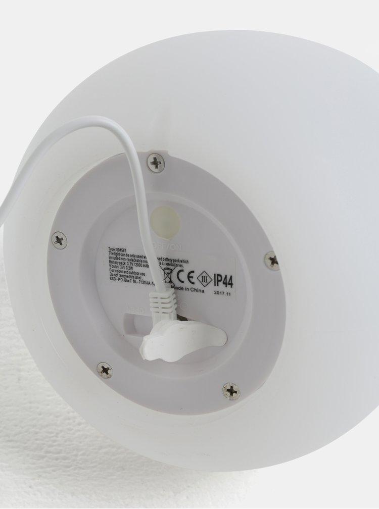 Bílý světelný LED reproduktor s dálkovým ovládáním Kaemingk