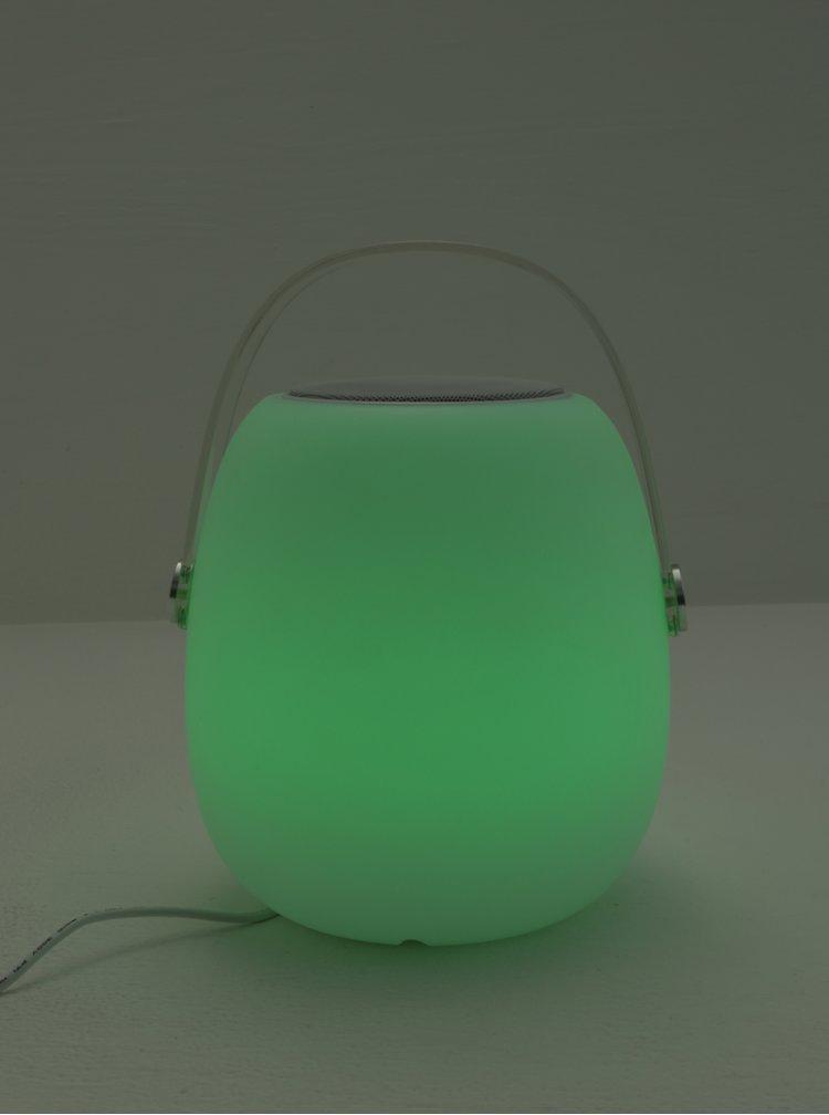 Boxa alba cu LED si telecomanda Kaemingk
