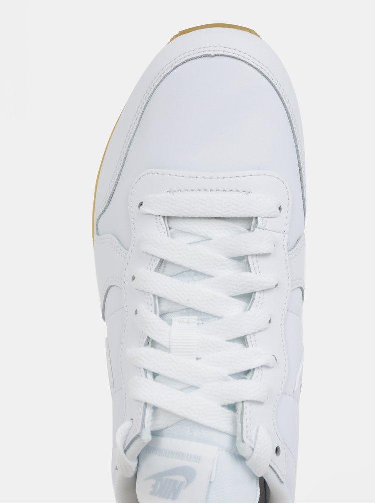 Bílé dámské kožené tenisky Nike Internationalist