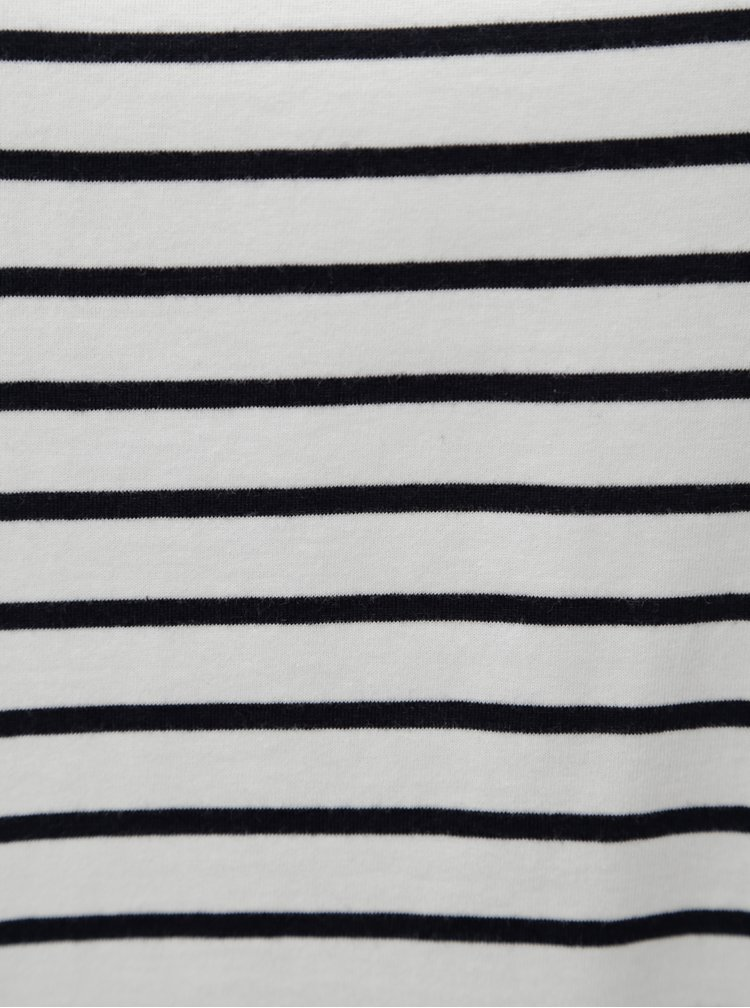 Modro-bílé pruhované tílko Zizzi Mina