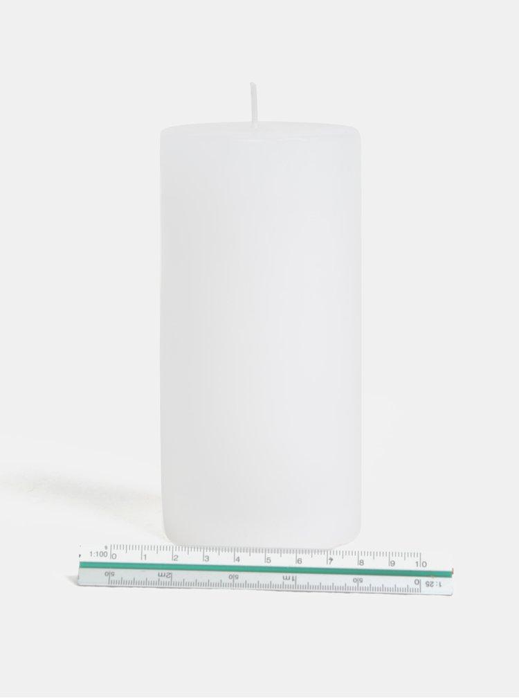 Bílá svíčka s motivem plameňáka Kaemingk