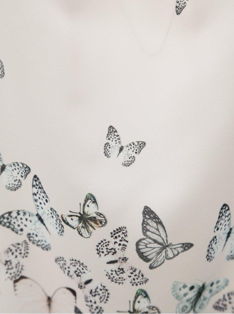 Světle růžová halenka s motivem motýlu Billie & Blossom Curve