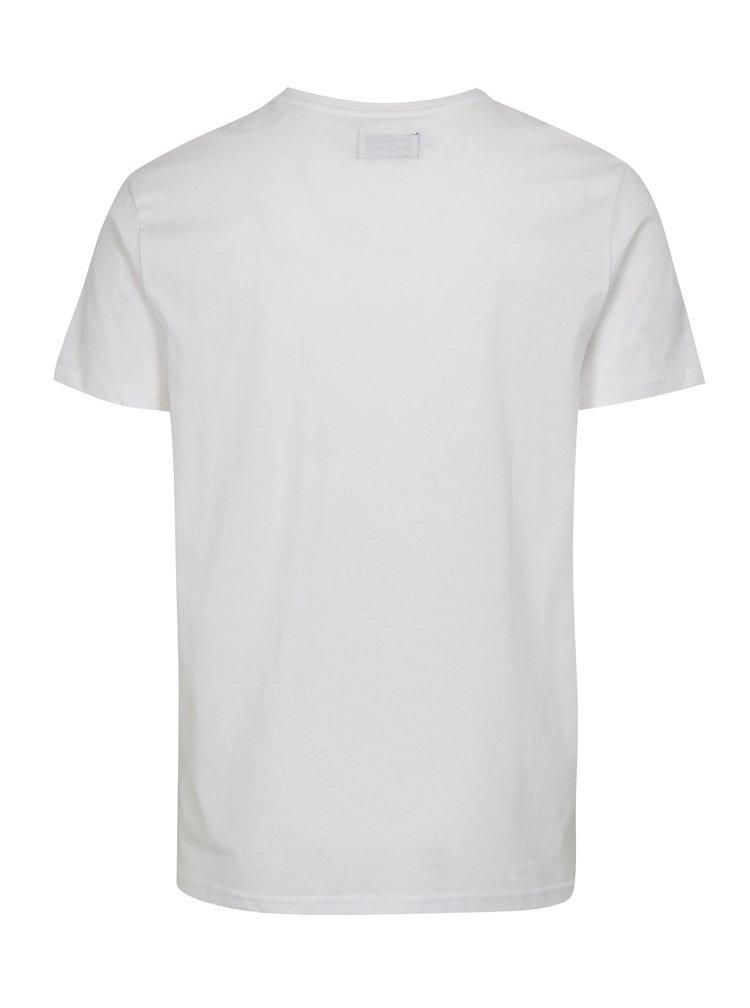 Bílé tričko s potiskem Higher Life Shine Original