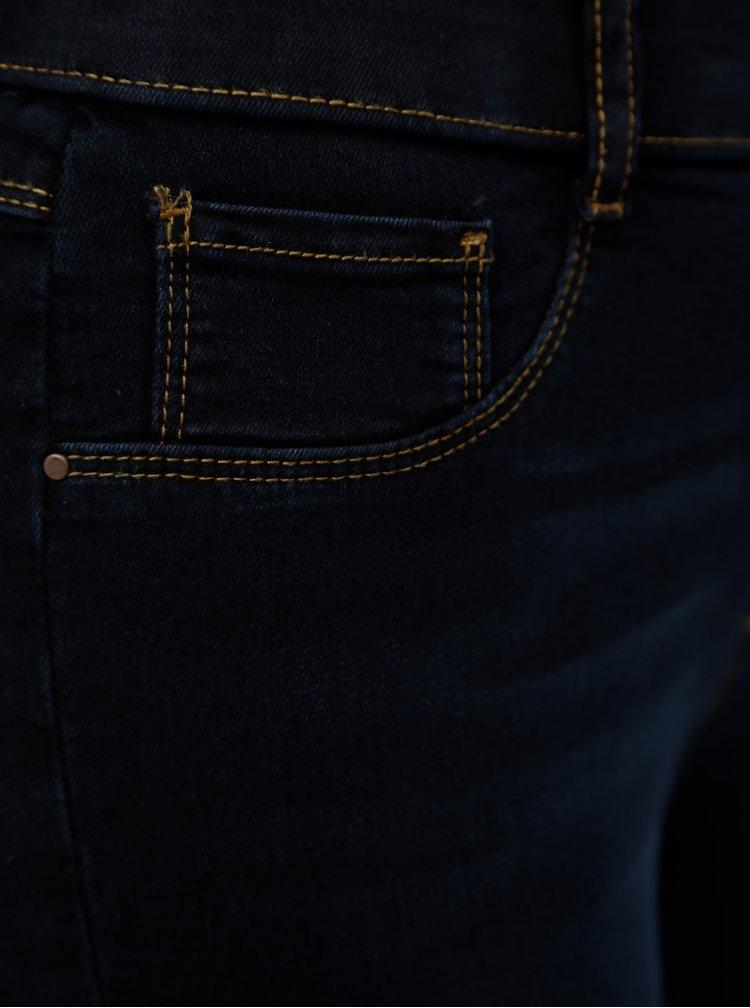 Tmavě modré 3/4 jeggings Dorothy Perkins