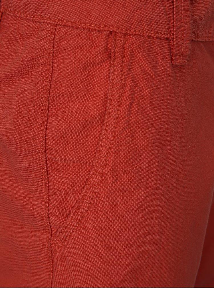 Červené chino kraťasy Shine Original