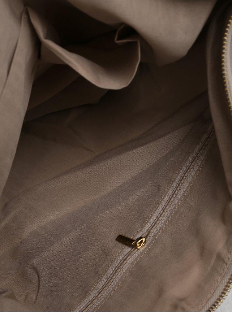 Béžová kabelka s detaily ve zlaté barvě Dorothy Perkins