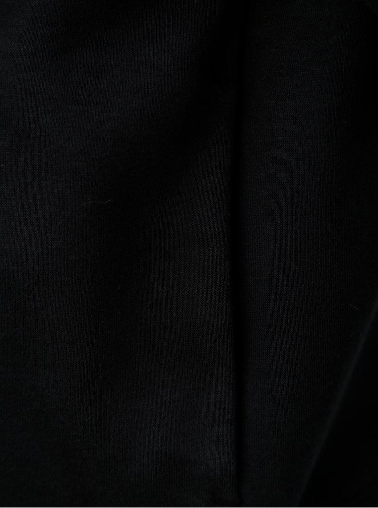 Černá dámská mikina s potiskem a kapucí Under Armour