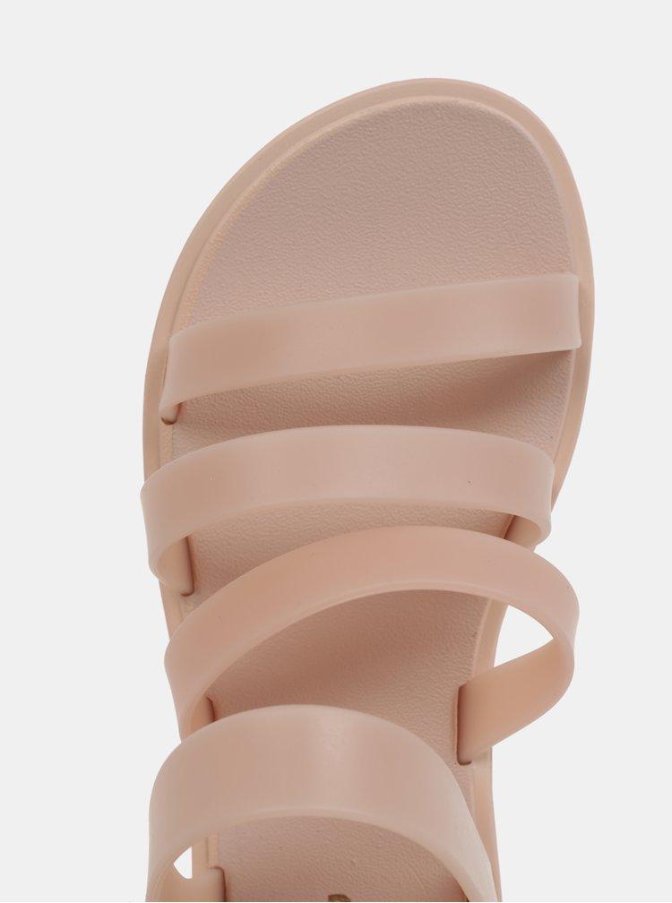 Sandale roz deschis cu barete Zaxy Spring