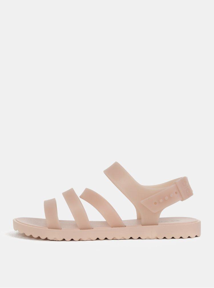 Světle růžové páskové sandály Zaxy Spring