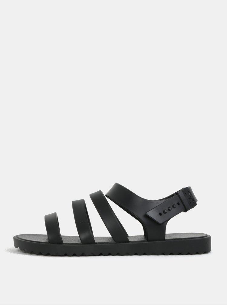 Černé páskové sandály Zaxy Spring