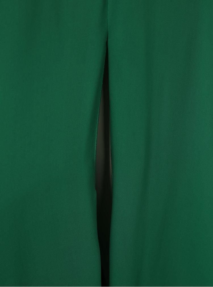 Zelené maxišaty s dlouhým rukávem Miss Grey Darma