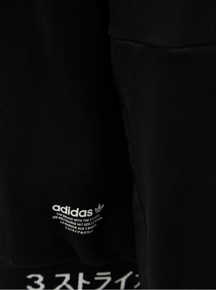Černá pánská mikina s potiskem adidas Originals