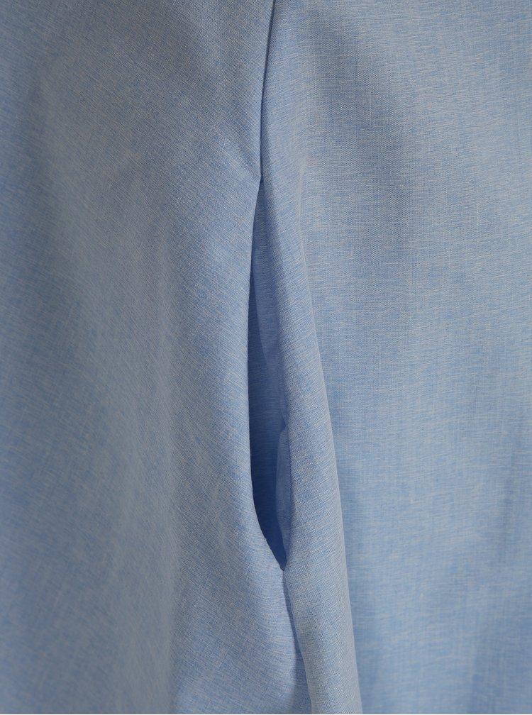 Světle modré šaty s límečkem La femme MiMi