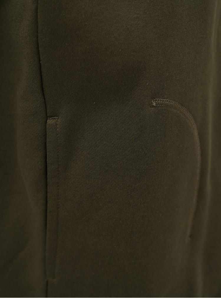 Khaki pánská mikina s kapsami adidas Originals