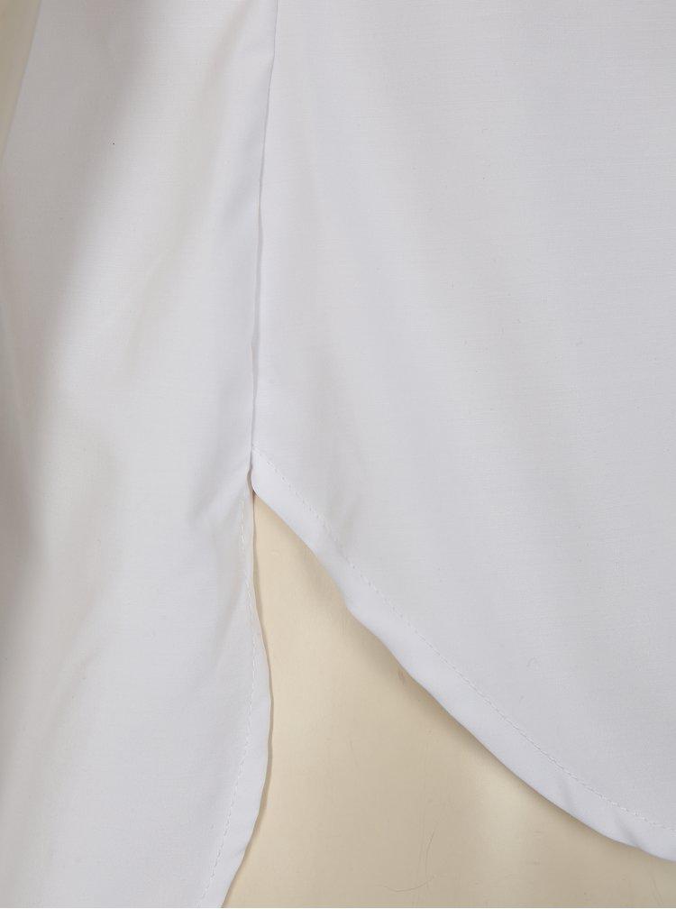 Bílá halenka s krátkým rukávem La femme MiMi