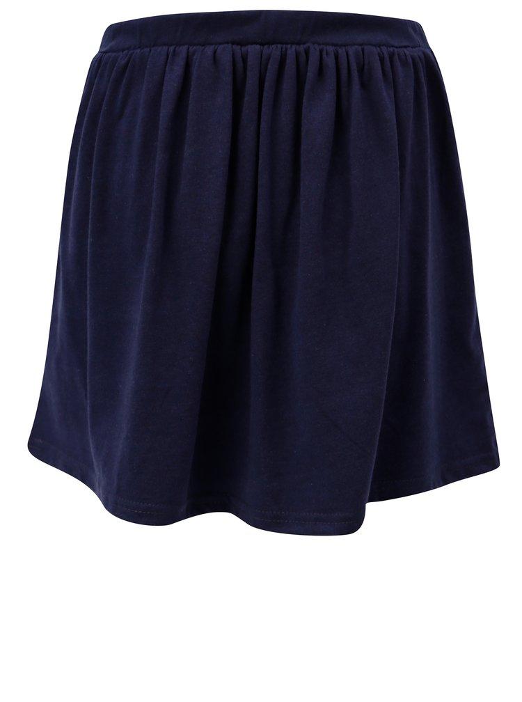 Tmavě modrá holčičí sukně se zavazováním 5.10.15.