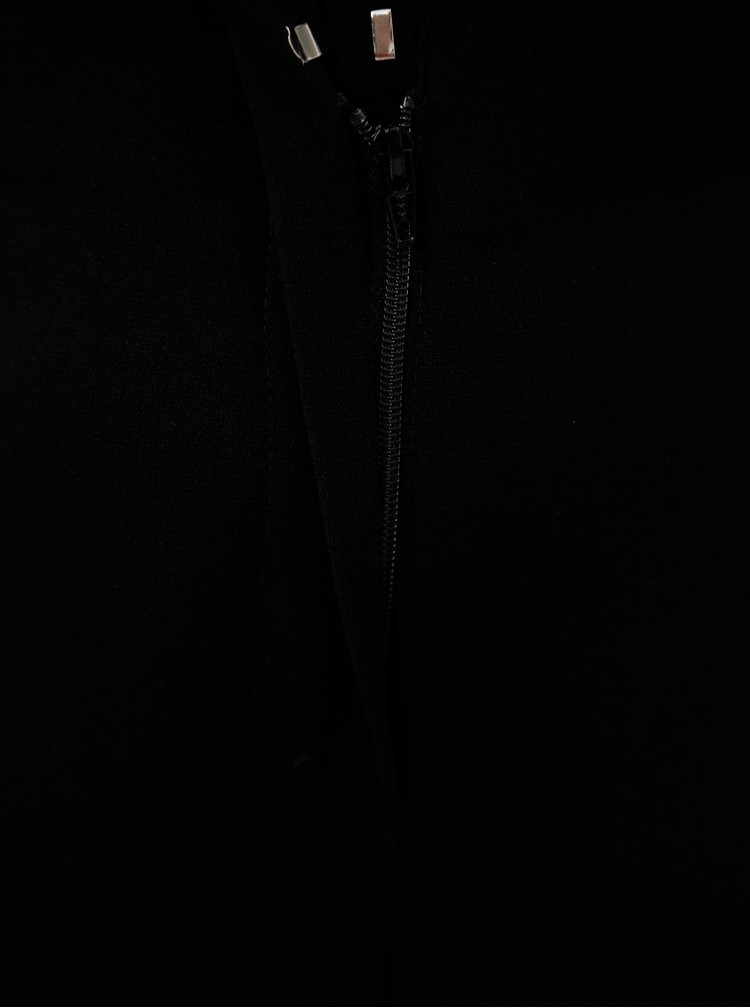 Černé culottes s páskem Dorothy Perkins