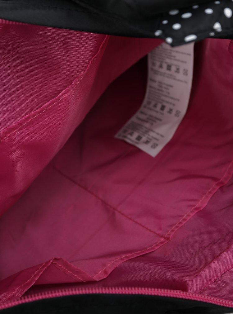 Černá vzorovaná dámská taška LOAP Finnie