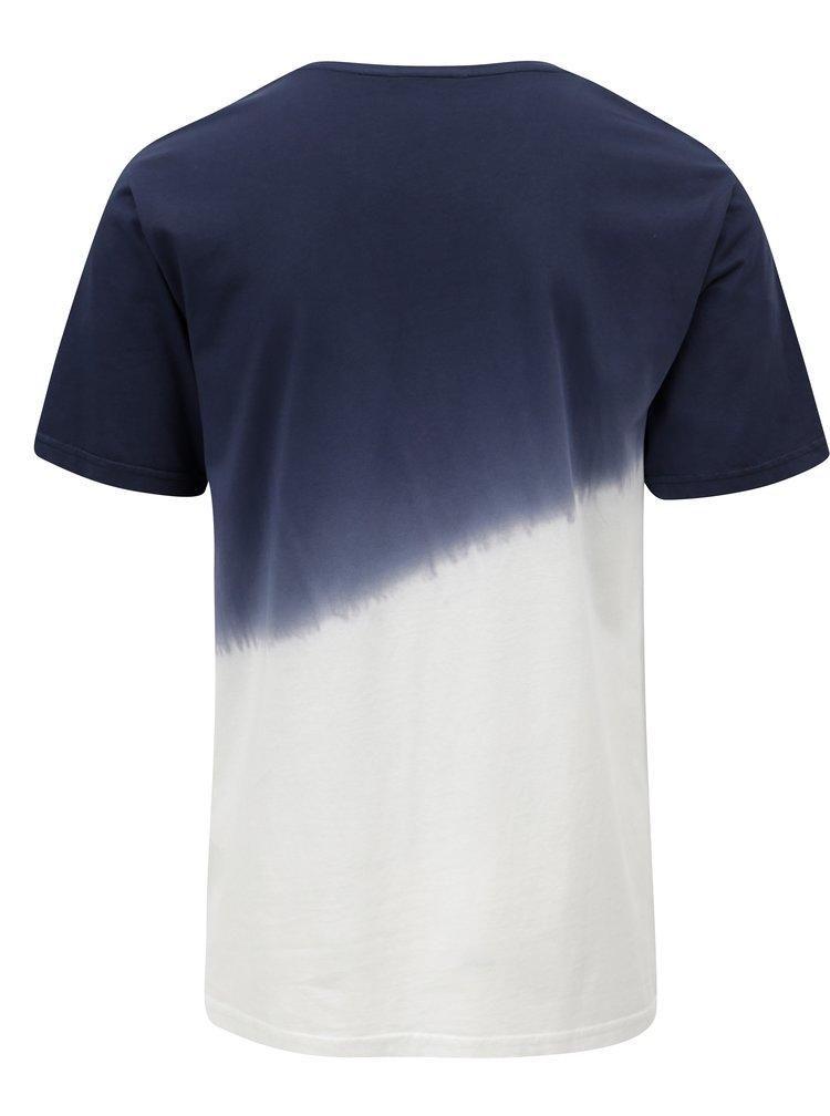 Bílo-modré tričko ONLY & SONS Dipz