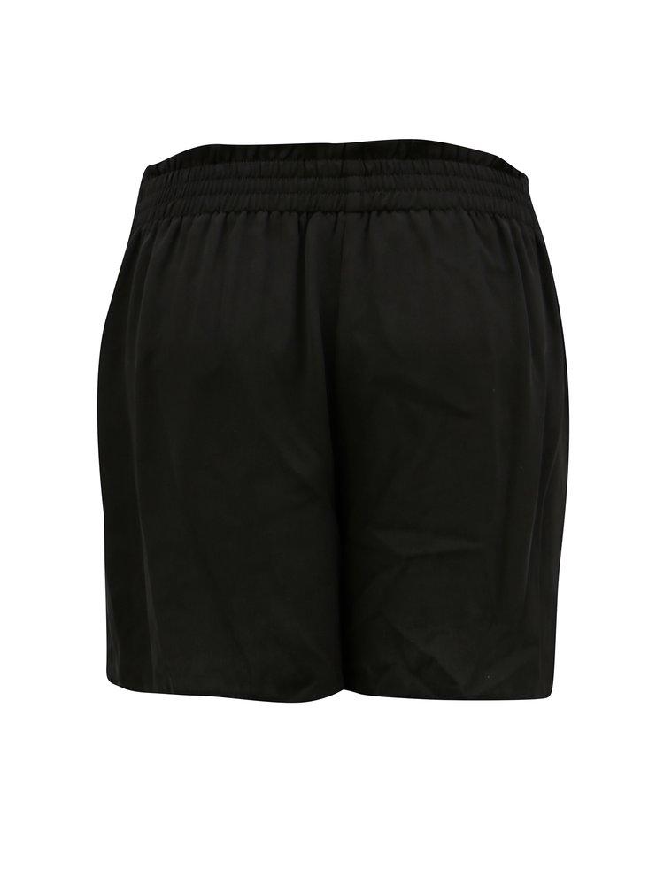 Pantaloni scurți negri pentru femei insarcinate Dorothy Perkins Maternity