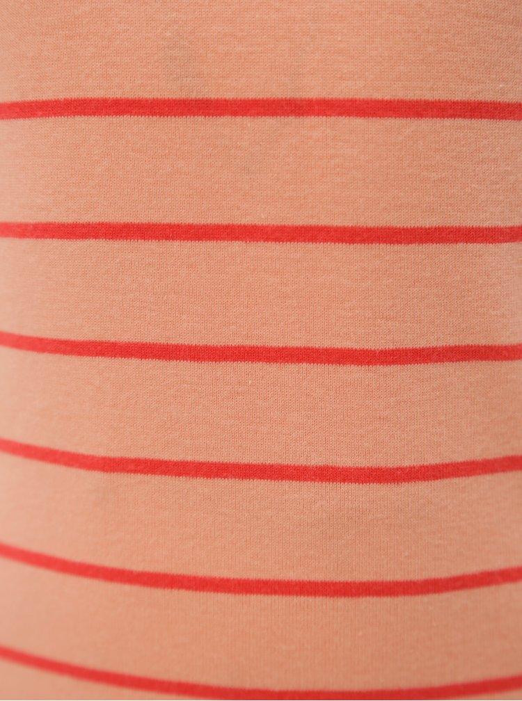 Růžové holčičí pruhované tričko name it Verit