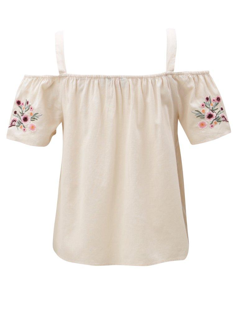 Bluza roz deschis cu amestec de in Dorothy Perkins Petite