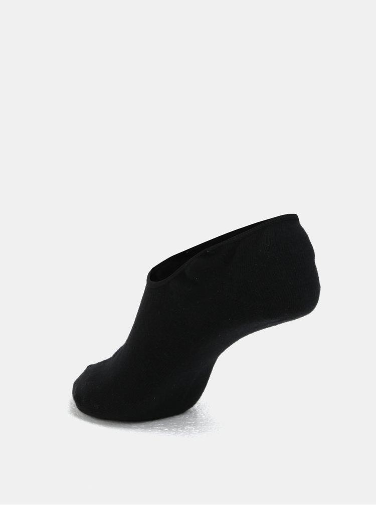 Sada pěti párů nízkých ponožek v černé barvě Jack & Jones Basic