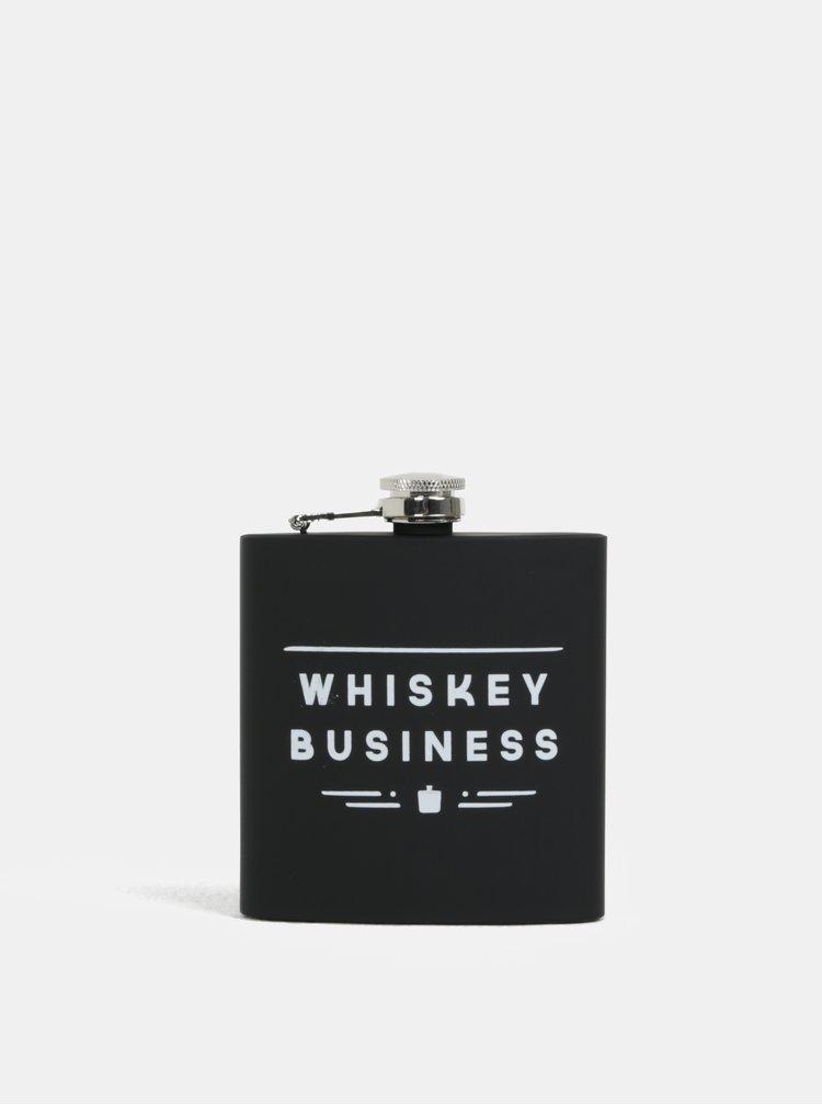 Čierna ploskačka na whisky CGB