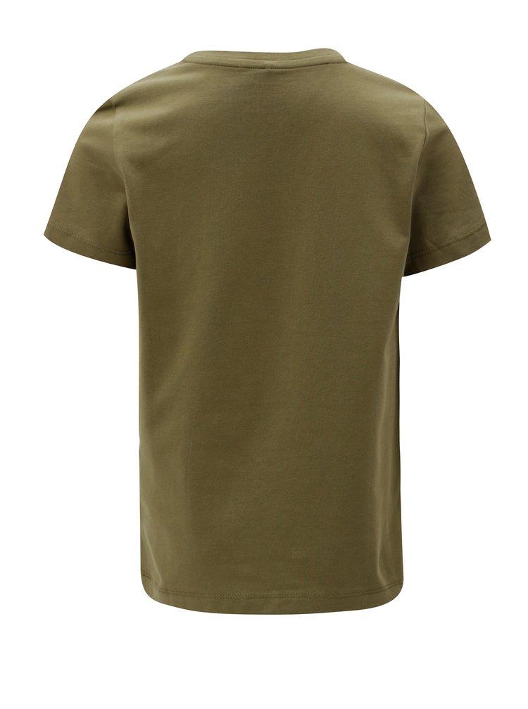 Khaki klučičí vzorované tričko name it Kuba