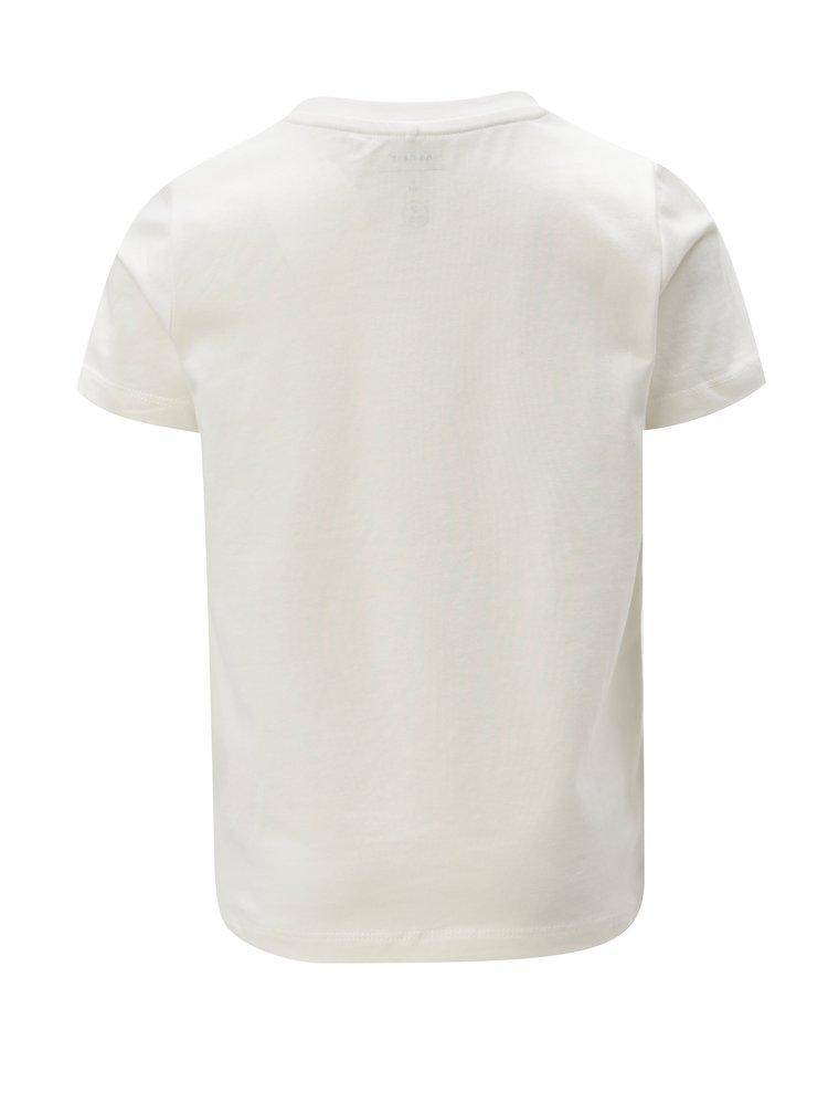Bílé klučičí vzorované tričko name it Kuba