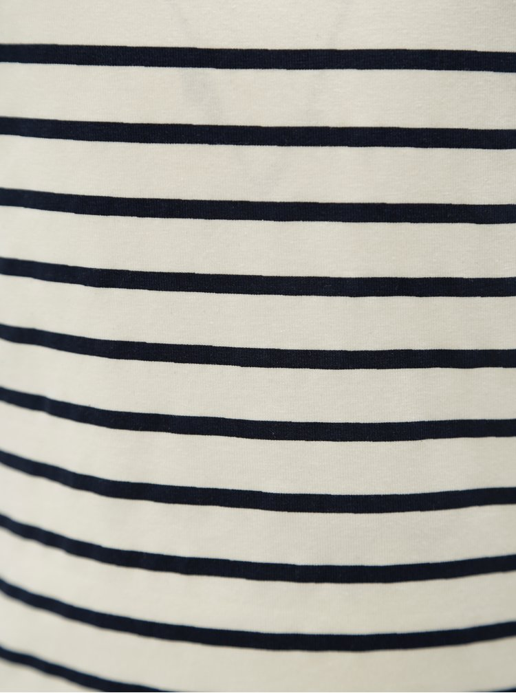 Modro-bílé holčičí pruhované tričko name it Vilske