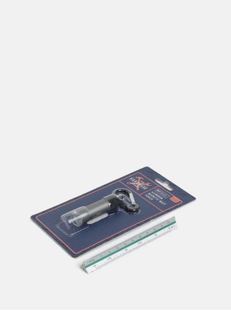 Baterka na klíče ve stříbrné barvě CGB