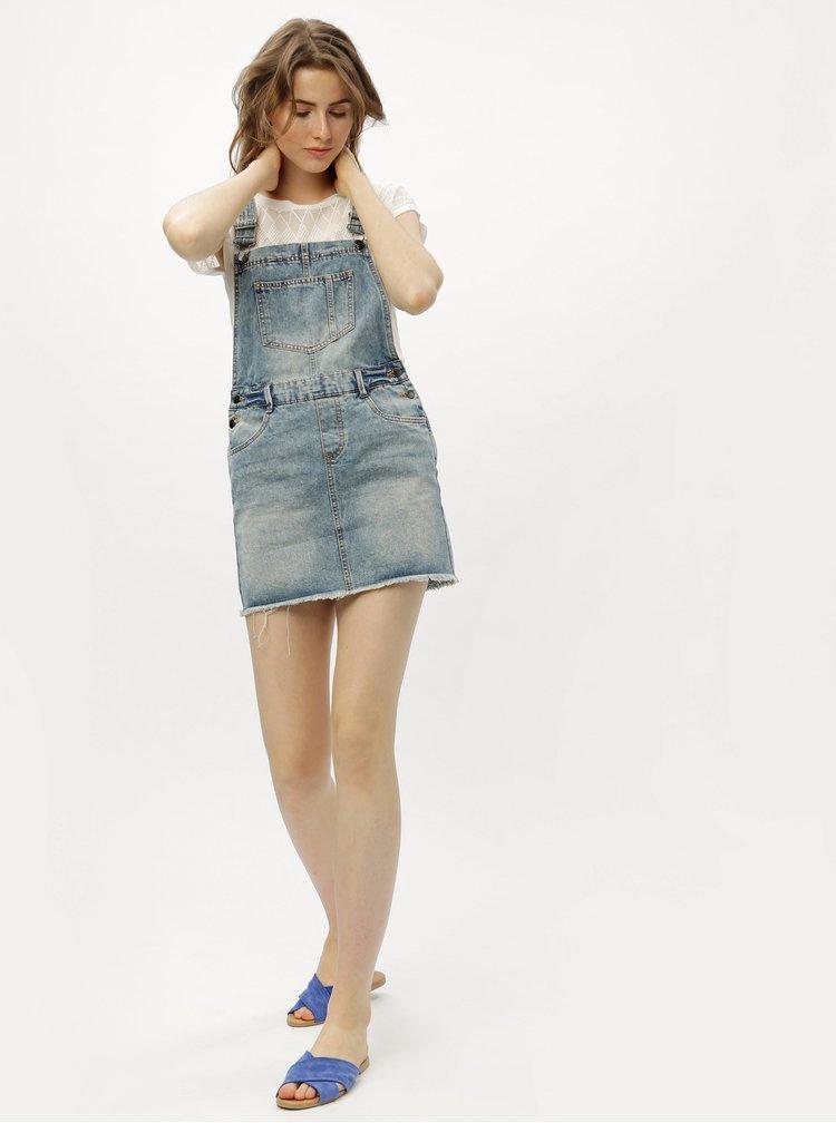 Modré džínové šaty s laclem Jacqueline de Yong Cleo