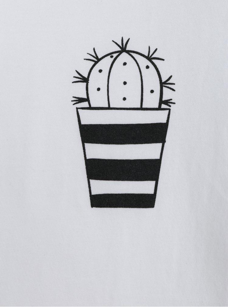 Bílé pánské tričko ZOOT Original Kaktus