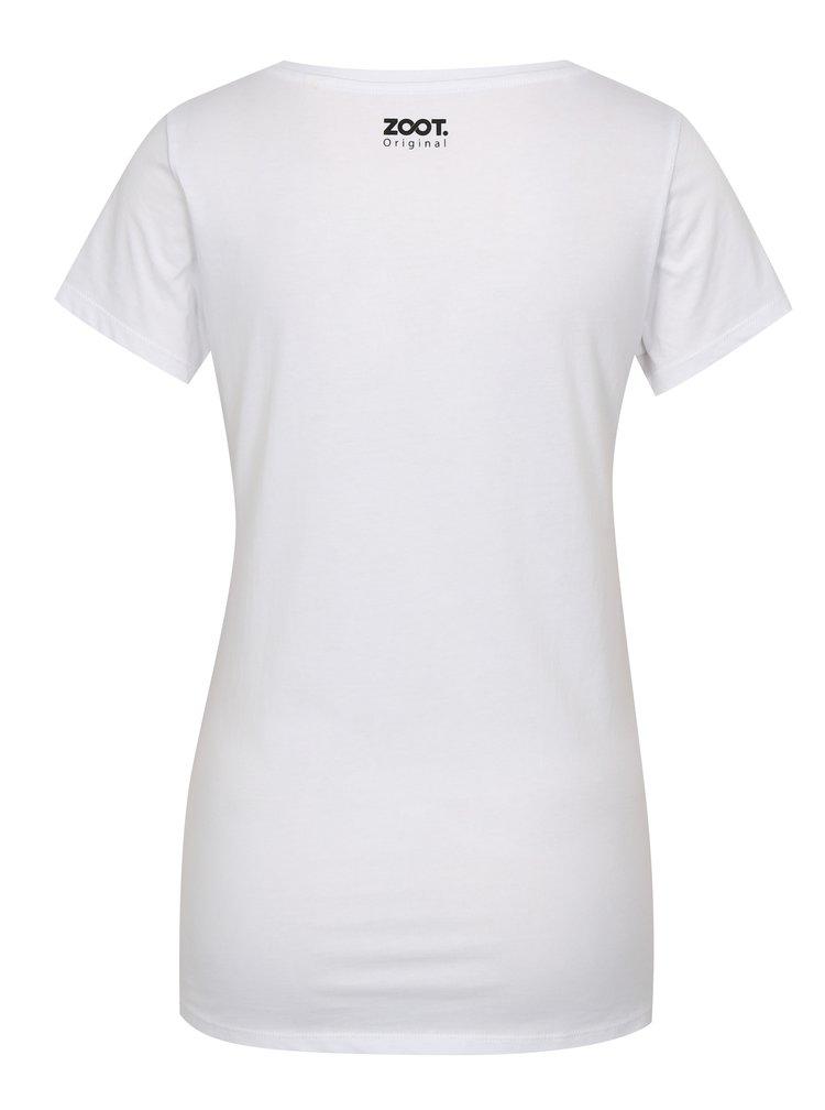 Bílé dámské tričko ZOOT Original Ryby