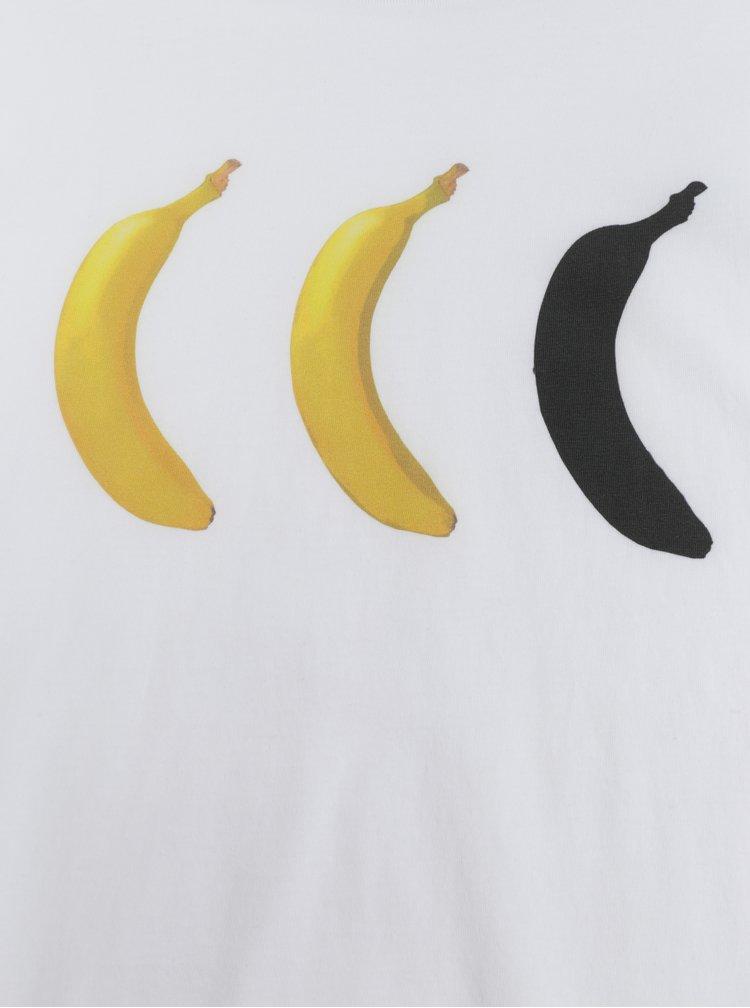 Bílé pánské tričko ZOOT Original Banan