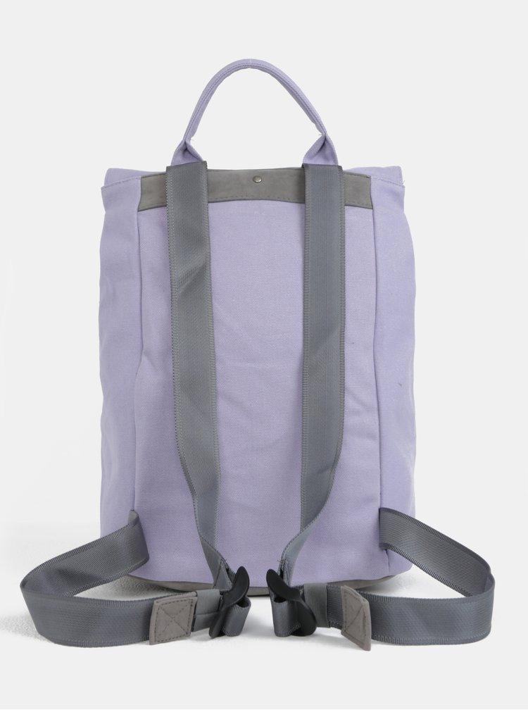 Světle fialový dámský batoh Mi-Pac Day Pack Canvas