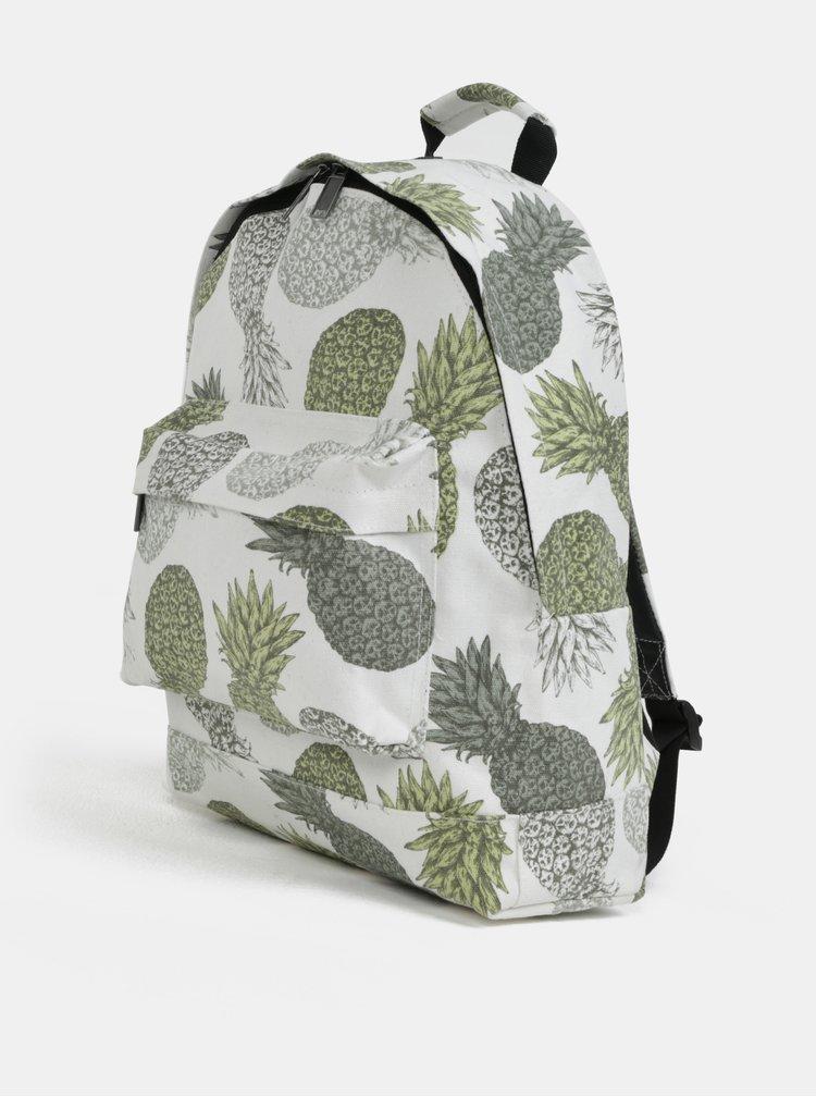 Bílý batoh s motivem ananasů Mi-Pac Pineapple