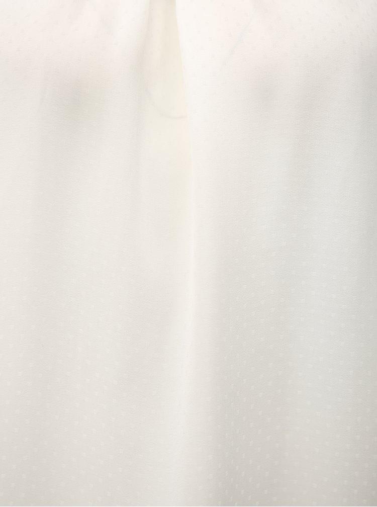 Bílá halenka s drobným vzorem Haily´s Jenny