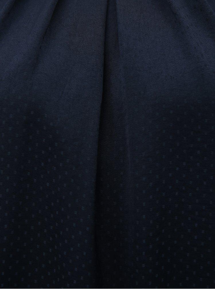 Tmavě modré tílko s drobným vzorem Haily´s Jenny